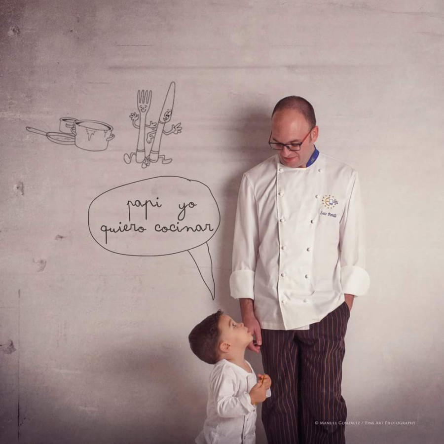 Para el pequeño Aníbal, de cocinero a cocinero