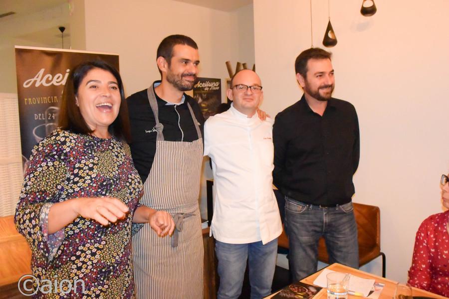 Tragaldabas, espacio en el que cocinar con aceitunas se convierte en arte culinario