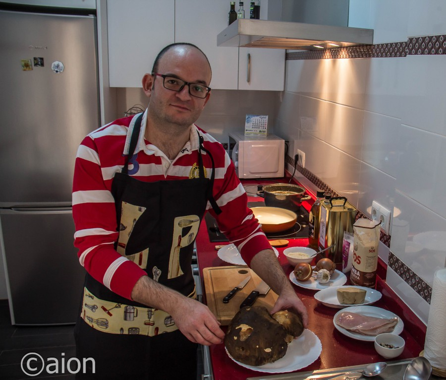Temporada de boletus, receta para acompañar el risotto
