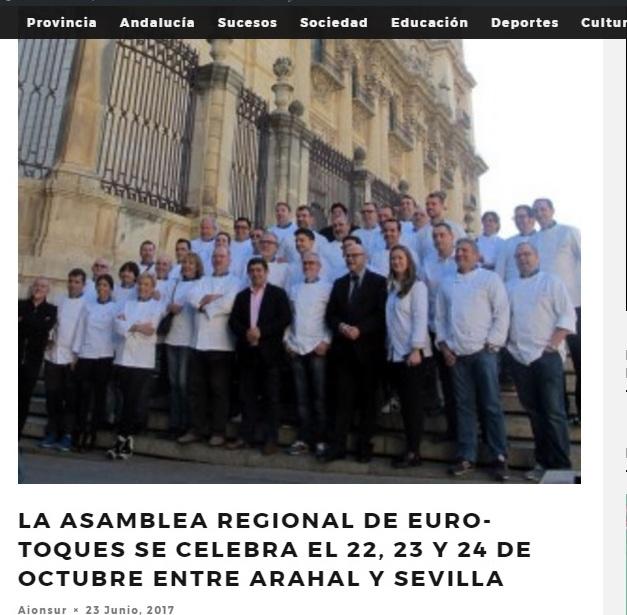 Somos noticia: Organizamos la Asamblea Regional de Euro-Toques