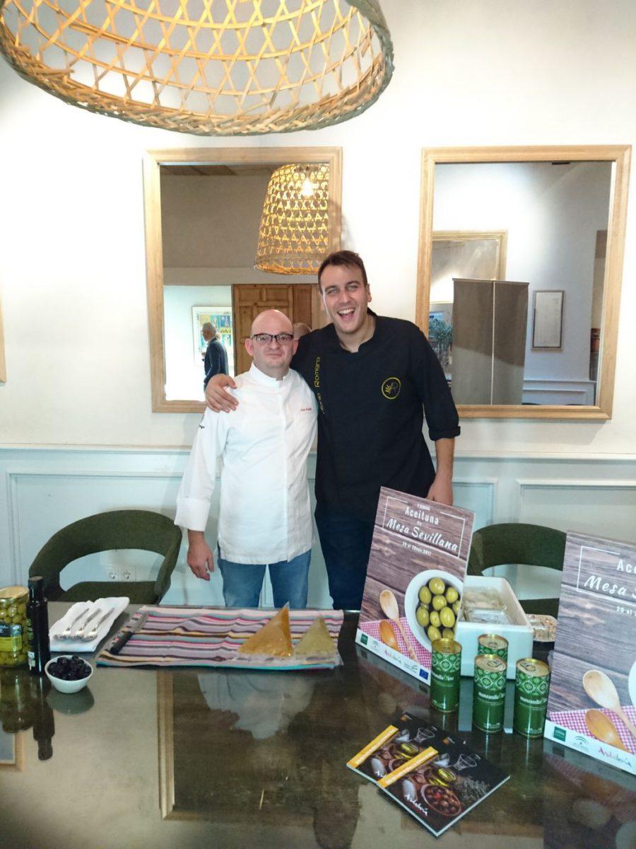 Vamos de promoción en Sevilla con la aceituna de mesa
